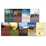 Rosamunde Pilcher Rosamunde Pilcher 9 Books Collection Set, (The Shell Seekers, The end of Summer, Sleeping Tiger, The Empty House, Wild Mountain Thyme, Flowers in the Rain, The Blue Bedroom, The Day of the Storm, Another View)