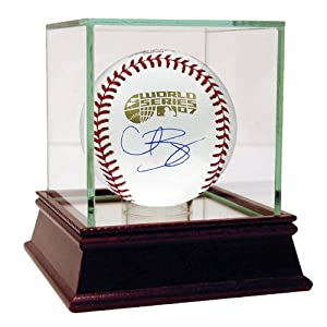 MLB Boston Red Sox Curt Schilling 2007 World Series Signed Baseball by Steiner Sports