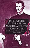 img - for Diplomatic Theory From Machiavelli To Kissinger (Studies in Diplomacy) book / textbook / text book