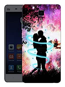 "Humor Gang Love All Around Couple Printed Designer Mobile Back Cover For ""Xiaomi Redmi Mi4"" (3D, Matte, Premium Quality Snap On Case)"