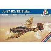 タミヤ イタレリ 1/72 飛行機シリーズ 1292 ユンカース Ju87 B-2/R-2 スツーカ 1292