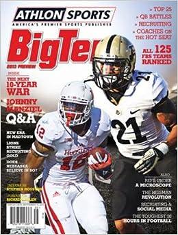 Athlon Sports 2013 College Football Big Ten Preview Magazine- Indiana