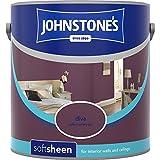 Johnstones No Ordinary Paint Water Based Interior Soft Sheen Emulsion Diva 2.5 Litre
