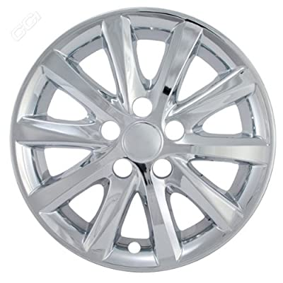Coast To Coast IWCIMP327X 16 Inch Chrome Wheelskins With Xle, Hybrid - Pack Of 4