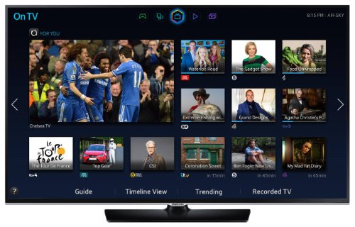 Samsung 48H5500 48-inch Widescreen Full HD 1080p Smart LED TV with Wi-Fi Direct and Freeview HD