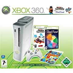 Xbox 360 Konsole Pro mit 60 GB Festplatte inkl. Burnout Paradise Ultimate + Trivial Pursuit