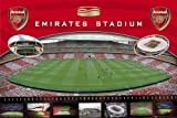 Football Poster Arsenal London in the Emirates Stadium Plus Additional Item multicoloured