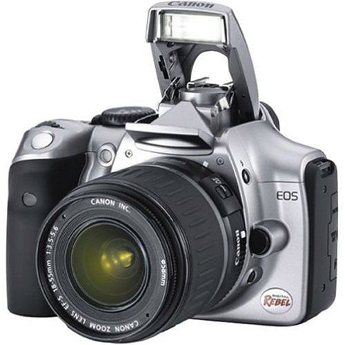Canon EOS 6.3MP Digital Rebel Camera with Canon lens EF-S 18-55mm 1:3.5-5.6