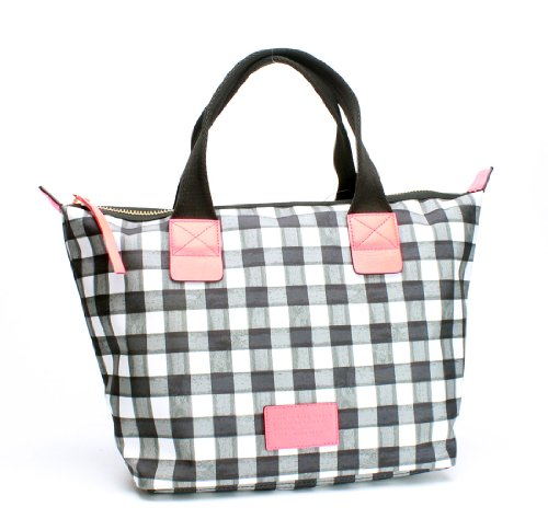 Marc By Marc Jacobs Domo Arigato Brushcheck Zip Tote, Black Multi