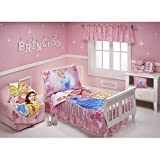 Disney Princess 4-piece Toddler Bedding Set Pink Garden