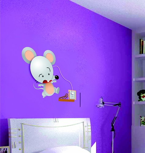 Dream Wall Decal, Silver Rat