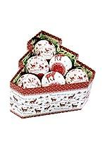 Decoracion Navideña Set Colgante decorativo 12 Uds. Árbol Navidad Ciervo Memory
