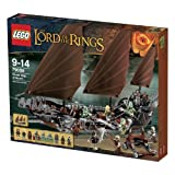 Lego the Lord of the Ring - 79008 - Jeu de Construction - L'embuscade du Bateau Pirat