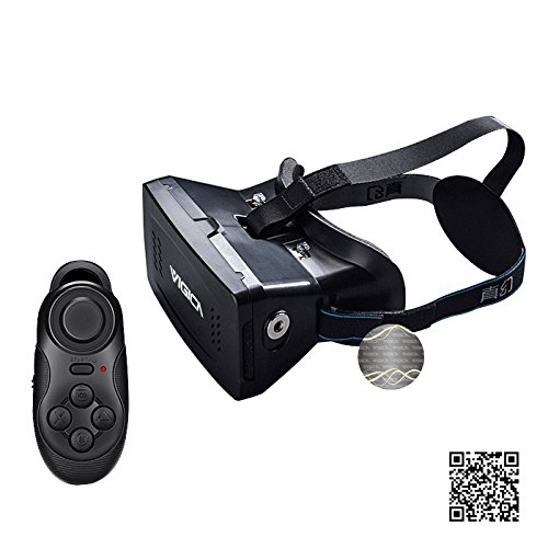 Cheapest Prices! VIGICA Virtual Reality Headset iMax 3d Video Glasses Head Mount Plastic Version for...