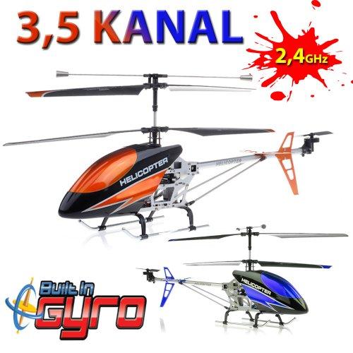 Bilder von 3.5 Kanal 2,4Ghz Volitation Pro V2 RIESENGROßER XXL RC ferngesteuerter Hubschrauber ALLU METALL-LOOK Hubschrauber/Helikopter/Heli mit GYROSCOPE-TECHNIK + 2,4Ghz TECHNOLOGIE!!! für INNEN und AUSSEN brandneu mit eingebautem GYRO und 2.4 GHz Steuerung!!!! FLUGFERTIG!