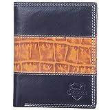 Leder Mart (2206) Boys Wallet -Black & Brown