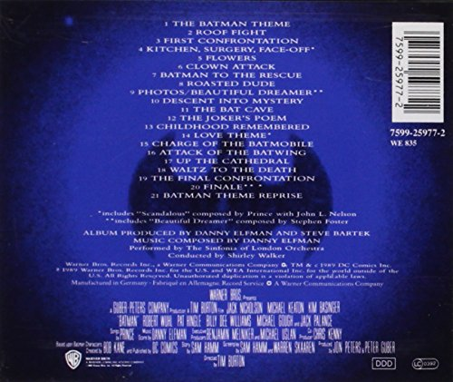 Batman: Original Motion Picture Score at Gotham City Store