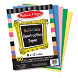 Melissa & Doug Multi-Color Construction Paper (9