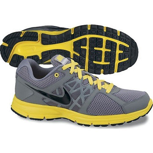 Nike Nike Men's NIKE AIR RELENTLESS 2 RUNNING SHOES 11 (COOL GREY/BLACK/CHROME YELLOW)
