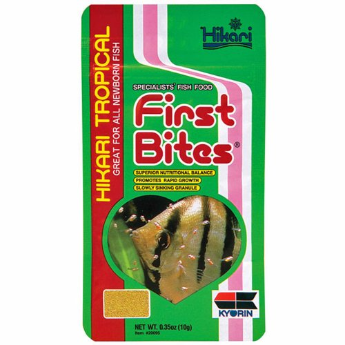 Hikari First Bites Semi-Floating Fry Food for Pets 0 35-OunceB001D6YEDY