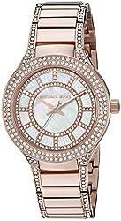 Michael Kors Women's Mini Kerry Rose Gold-Tone Watch MK3443