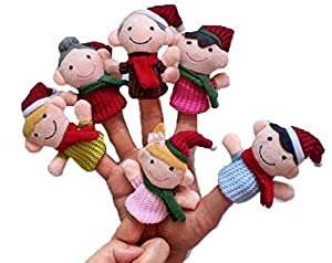 Finger Puppet/Dolls/Toys Story-telling Props/Tools Toy Model Babies/Kids/Children Toys from Viskey