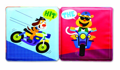 Kids Preferred Harley Davidson Bath Book and Squirty Set