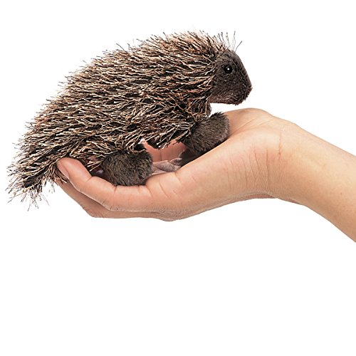 Folkmanis Mini Porcupine Finger Puppet - 1