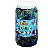 Hama 267 - 1154 Buegelperlen, Glitter, 13.000 Stck. in Dose von Hama