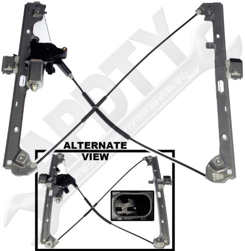 APDTY 852755 Power Window Cable Regulator & Motor Assembly Fits Front Left 1999-2007 Chevrolet Silverado GMC Sierra Pickup 2000-2006 Cadillac Escalade Chevrolet Avalanche Suburban Tahoe Yukon (2007 Chevy Silverado Window Motor compare prices)