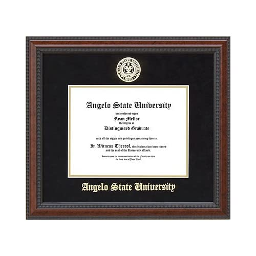 Amazon.com: Angelo State University Diploma Frame with School Seal