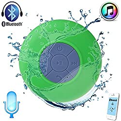 BLUETOOTH SPEAKER SYSTEM - WATER PROOF SHOWER MATE with Conference Call Feature