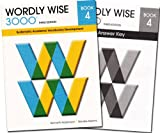 img - for Wordly Wise 3000 Grade 4 SET -- Student and Answer Key (Systematic Academic Vocabulary Development) book / textbook / text book