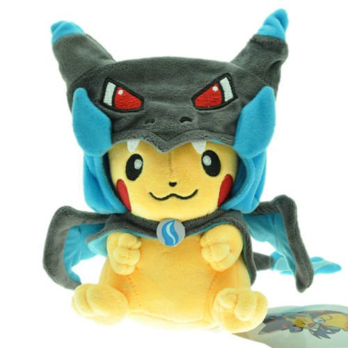 POKEMON-PIKACHU-WITH-MEGA-CHARIZARD-X-CAPE-PELUCHE-PIKACHU-DISFRAZ-COSPLAY-COSTUME-PIKACHU-PLUSH-TOY-25cm-10