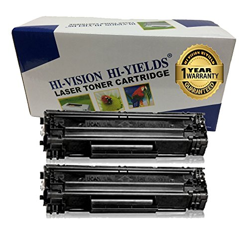 HI-VISION ® 2 Pack Compatible Canon 137 (9435B001) Laser Toner Cartridge Replacement for imageCLASS MF212w, MF216n, MF227dw, MF229dw