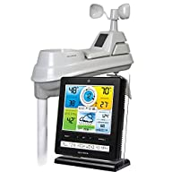 AcuRite 02032CRM Pro Weather Station with PC Connect, Weather Ticker, Rain and Wind