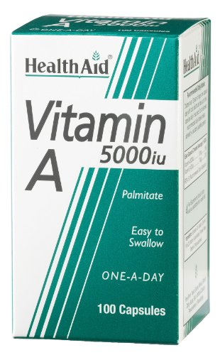 HealthAid Vitamin A 5000iu - 100 Capsules
