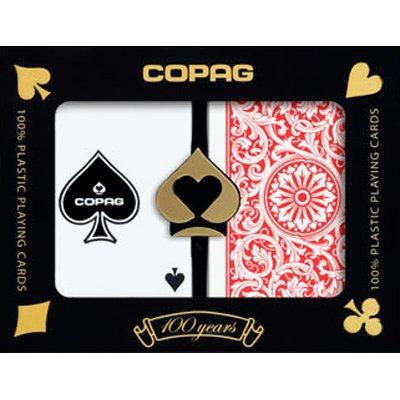 Copag Bridge Size Regular Index 1546 Playing Cards (Red Blue Setup)