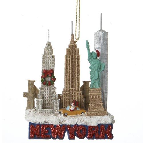 Kurt Adler City Travel New York City Ornament, 3.25-Inch (Kurt Adler Ornaments New York compare prices)