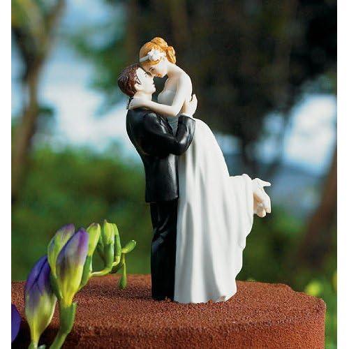 Romance Couple Wedding Cake Toppers
