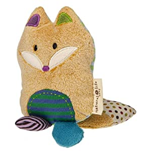 Natural Life Baby Mary Meyer Animal Plush Rattle, Love You Forever Fox