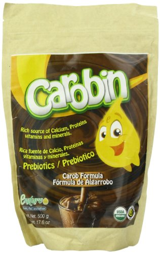 Enature Carobin Powder With Calcium And Inulin Formula, 17.6 Ounce front-1023125
