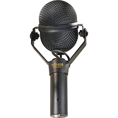 Electro Voice Nd468 Dynamic Instrument Microphone - (New)