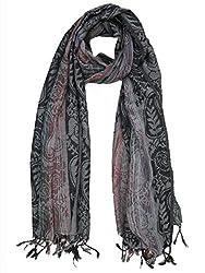 Lotsa Fashion Women's Designing Viscose Stole (LF85110VC1182_Multi-Colored_Freezise)