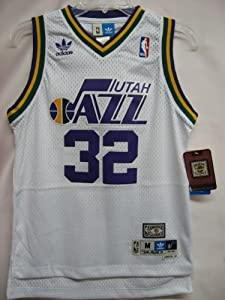 Utah Jazz Karl Malone Hardwood Classics Swingman NBA YOUTH Jersey by adidas