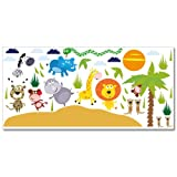 Wandkings Safari Wandsticker XL Set