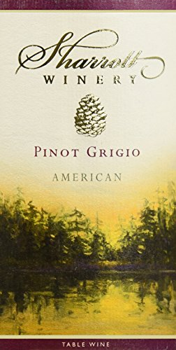 Nv Sharrott Winery Pinot Grigio 750 Ml