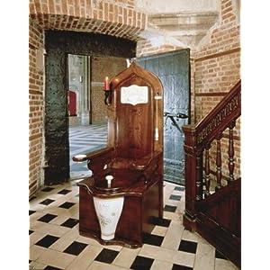 Herbeau Dagobert Wooden Throne Toilet