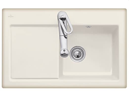 Villeroy Boch Subway 45 Cappuccino &Ceramic Sink Kitchen Spultisch
