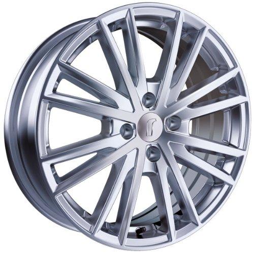 1 x Rondell Z Design 04RZ in 6,5 x 16 ET 30 LZ/LK 4 x 98 Farbe Glanzsilber für Fiat 500 Abarth /-C Typ 312